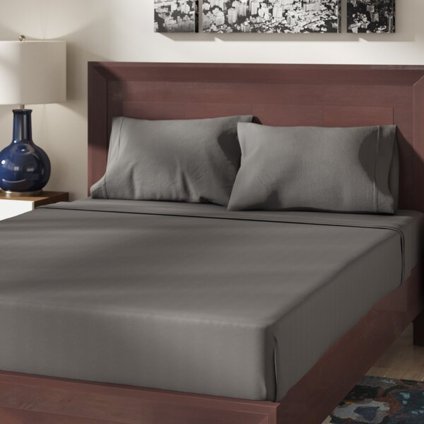 Cullen 400 Thread Count 100% Cotton Sheet Set by The Twillery Co.